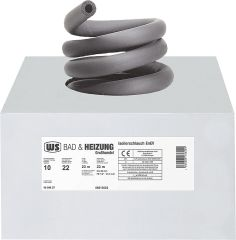 WS Kautschuk-Isolierung 15 mm, Dämmdicke 10mm, VPE = 1 Karton = 33m