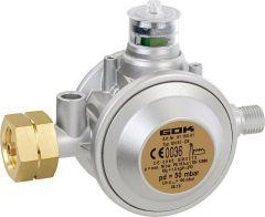GOK Niederdruckregler mit Überdrucks. Kombi x 1/4``LH, PN 16 ersetzt 01 140 01
