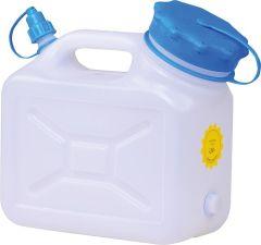Weithalskanister Kunststoff 5 Liter mit extra großer Öffnung