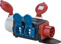 Starkstrom CEE-Adapter/Verteiler 16/32A/250V