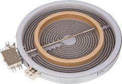 Evenes HiLight-Heizkörper 2200/1000W-230V, d=210/140mm