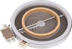 EVENES HiLight-Heizkörper Zweikreis 1800/700W-230V, d=180/120mm