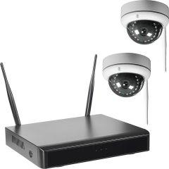 Funk-VideoÜberwachung mit Smartrecorder, inkl. 2 Kameras WR1