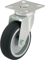 BLICKLE Lenkrolle LPA-TPA 50G tragfähigkeit 50 kg Rad D= 50mm, Plattengröße 60x60