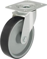 Blickle Lenkrolle mit Polyurethan Rad d= 80mm