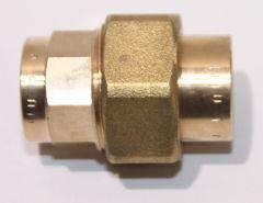 Viega Lötfitting Rohrverschraubung Rotguss DN 22mm - 104399