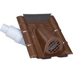 Geba Entlüftungshauben, Typ Beton NW 70/100 Braun