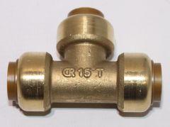 Tectite CU Steckfitting T-Stück DN 15mm - 9020676