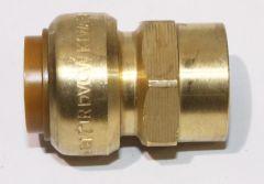 Tectite CU Steckfitting Übergangsmuffe DN 18mmx1/2 IG