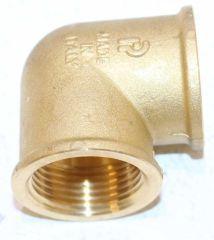 Messingfitting Winkel 90 DN 25 (1) - 9008111