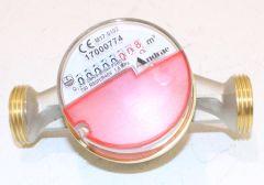Wasserzähler warm Modularis Qn 1,5 m /h 130mm 1 DN 20mm