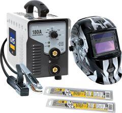GYS Elektroden-Schweißgerät PROGYS 180 A + Schweißhelm LCD M