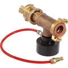 Injektor mit Druckluftschlauch zu Ropuls Spülkompressor
