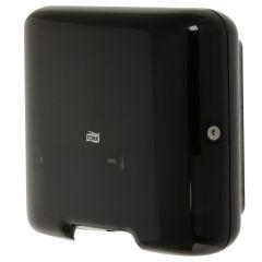 Tork Mini Handtuchspender H3 schwarz für Handtücher mit Zick