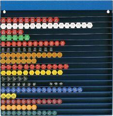 Düsenübersichtsgestell SDÜ 360 für ca. 3 60 Düsen