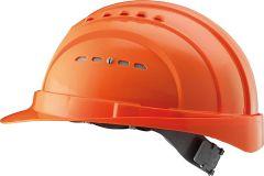 Schutzhelm EuroGuard V+ Orange, DIN EN397