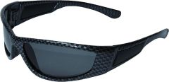 Schutzbrille Speed Carbon grau