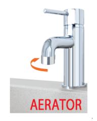 Claber Adapter für Innen-Wasserhähne inkl. Perlator