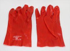 Vinyl-Handschuh rot 27cm EN 388