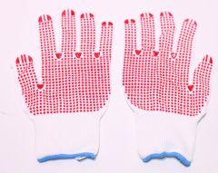 Feinstrick-Handschuh genoppt Polyamid Gr.10