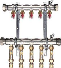 Strawa Soleverteiler Typ 38 VA Edelstahl m.Durchflussregler
