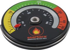 Starters Rauchgasthermometer mit Magnet- befestigung