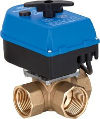 Rotodivert Umschaltventil Typ EMV 110-F3L DN20 3/4 IG