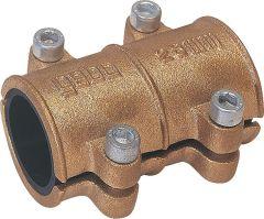 GEBO Dichtschelle aus Messing 10mm für Wasser PN 10 bis 90°C nach DIN 1786