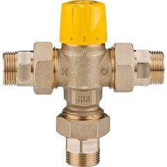 EASYFLOW Thermomischer Easyflow Mix 779 inkl. Verschraubung 30-65°C, Kvs 1,5, DN15 (1/2``