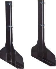 Standfüße Stahl für Wandmontage - 9085869