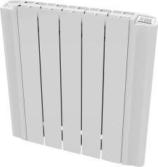 EMK Aluminium-Heizkörper Elektrisch eSimun GD 5818, 1800 Watt, RAL 9010