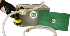 ZUWA Absaugsystem ELEPHANT mit Flachsaugmatte und Impeller- pumpe UNISTAR 2001-B