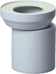 Abusanitair WC-Exzenterstutzen DN100 weiß