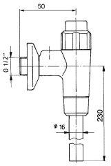 Ablauf Benkiser komplett für Modell 666-677/699 mit Spülrohr