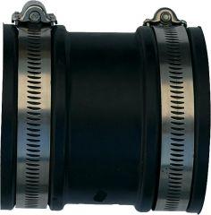 UPMANN Fixup-Drainagekupplung Aussendurchm. 110-125 mm Breite 100 mm