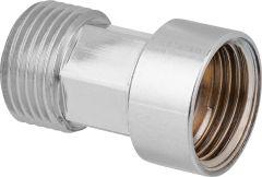 Verlängerung DN10 (3/8) chrom 20mm, für Armaturenschläuche