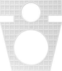 FliesenQuick Montageplatte schwarz