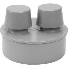 AIRFIT Airfit Rohrbelüfter aus PP für Abflussrohr, DN 110 grau