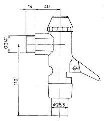 Oberteil Benkiser komplett für Modell 828, inkl. Dichtung