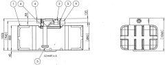 Intewa Kunststoff-Erdtank ET-1700-B 110067