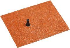 Eisedicht Leitungsmanschette Ziegelrot 15-22 mm,