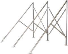 Flachdachmontageset für 1 Röhrenkollektor HP 22