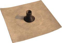 Eisedicht Leitungsmanschette GD22 25-32 mm Vlies-Butyl Klebekragen