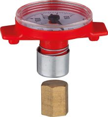 Thermometer für Solar T-Pumpen- kugelhahn,passend zu 1IGxDN