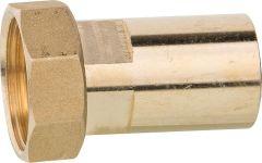 ZILMET Verschraubung auf Press-Löt- stutzen, 3/4ÜWM x 22mm-Stutzen, Messing,inkl.Dichtu