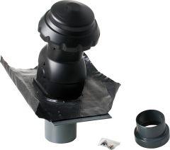 AIRFIT Steildachlüfter Universal DN 125 Farbe schwarz