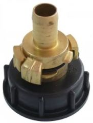 IBC Wassertank-Zubehör Geka Anschluss mit Schlauchku