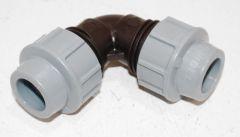 Unidelta PE-Rohr Bogen 90° DN 20x20