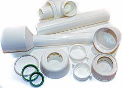 Evenes Urinal-Flaschensifon für Urinalbecken 40 x 230 mm