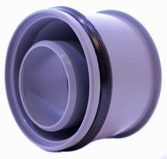 OSTENDORFER Abwasser-Innen-Reduzierstück aus PP für HT-Rohr und KG-Rohr DN 90x50